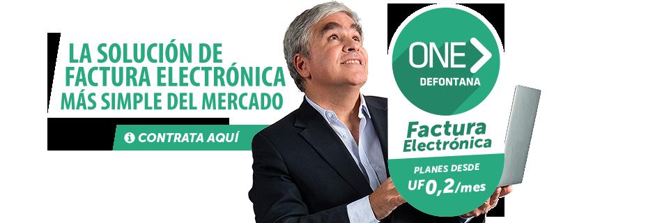 Factura Electrónica Defontana ONE