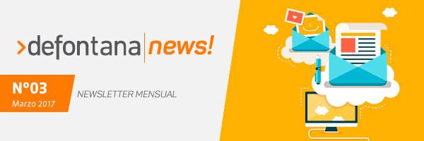 Defontana News – Marzo 2017