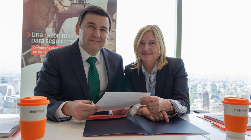 Defontana reitera compromiso de colaboración con Universidad Andrés Bello