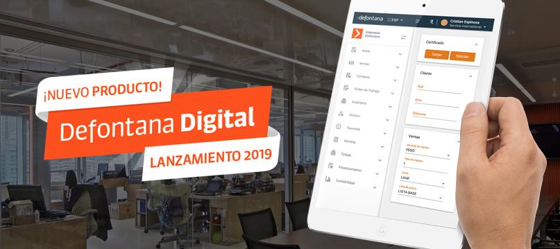 Defontana lanza su nueva solución ERP, Defontana Digital
