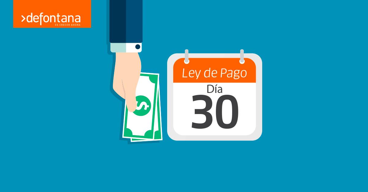 Las claves de la nueva Ley de Pago a 30 días