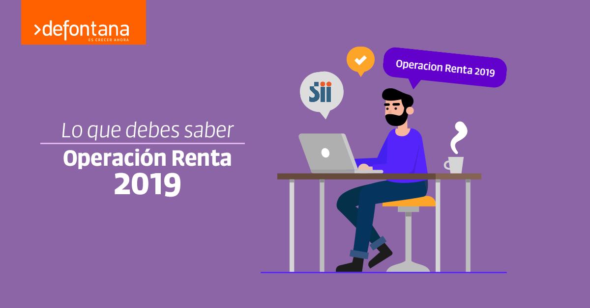 Lo que debes saber acerca de la Operación Renta 2019