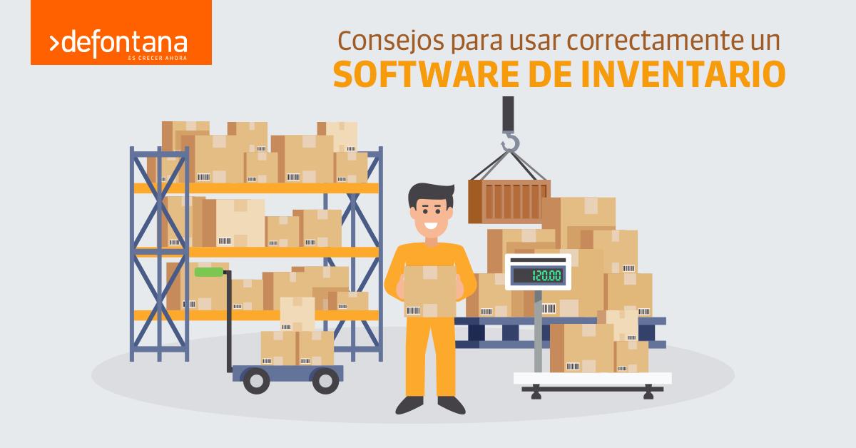 Consejos para usar correctamente un software de inventario