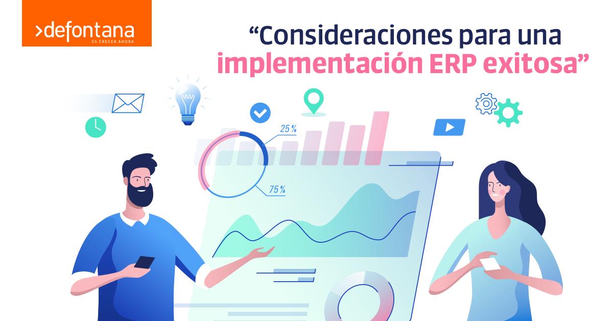 Consideraciones para una implementación ERP exitosa