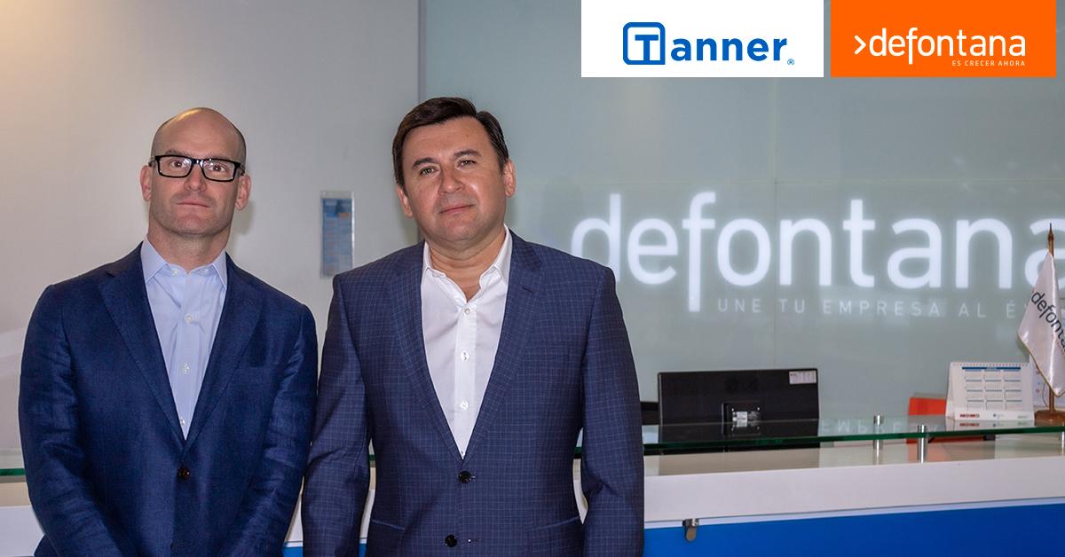 Defontana y Tanner firman alianza para entregar el mejor servicio de gestión y financiamiento del mercado