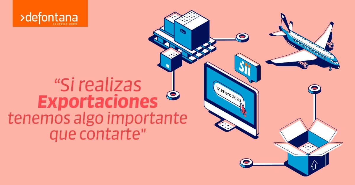 La Factura de Exportación Electrónica será obligatoria el 17 de Enero del 2020 y Defontana está preparado