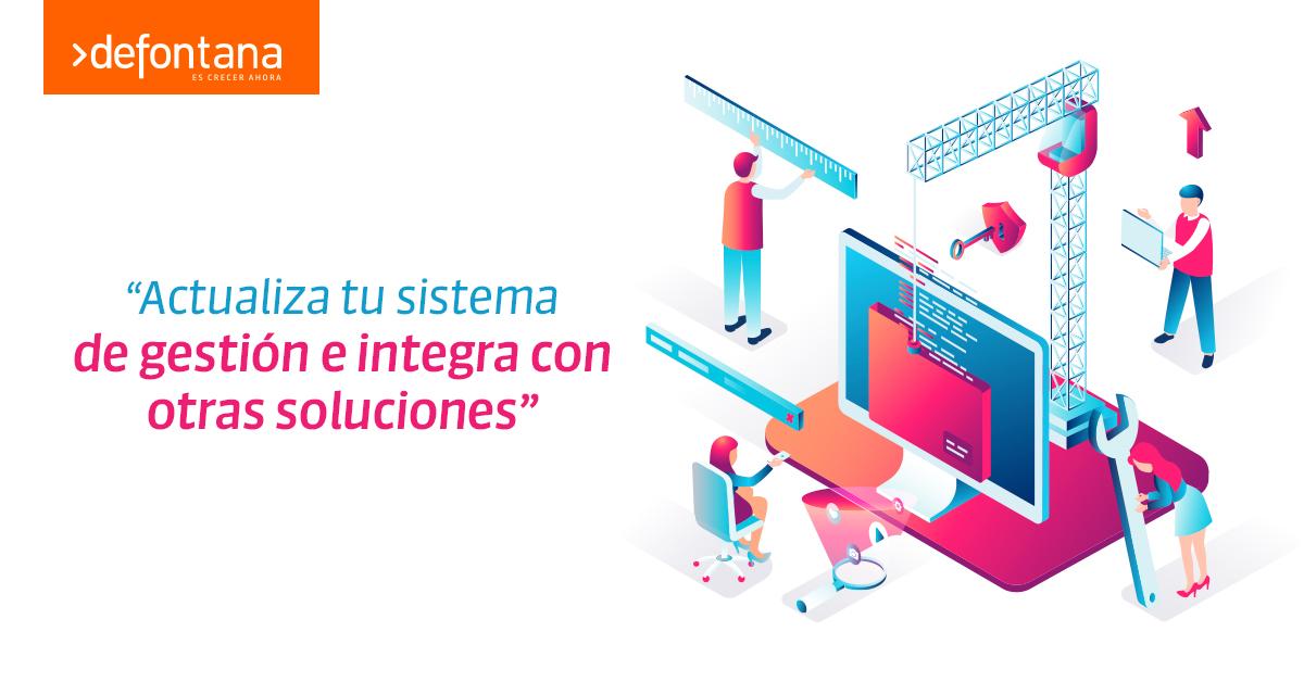 Defontana anuncia  completo servicio de integración de su ERP 100% web con cualquier sistema que utilice la Mediana y Gran Empresa